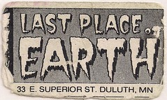 Last Place On Earth Business Card (Duluth, MN)