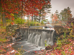 Hunt_091009_16076-Edit-2.jpg (James Hunt Photography) Tags: longexposure autumn fall massachusetts newengland beaver foliage waterfalls quabbin drinkingwater deceivers harvardlake harvardforest harvardpond