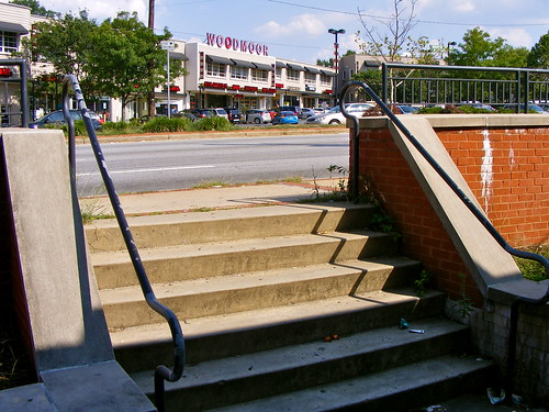Steps Up To Colesville Road