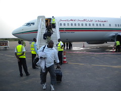 Arriving to Niamey's airport