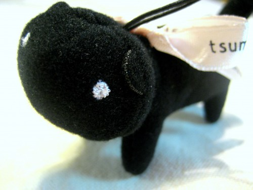 Black Cat Charm from from tsumori chisato SLEEP
