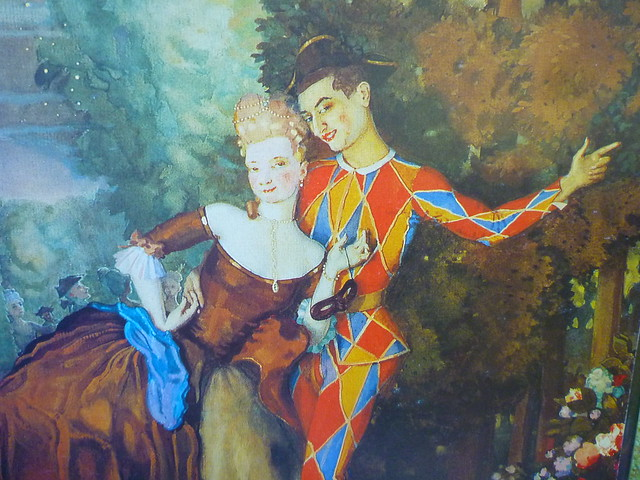 Pierrot and Lady