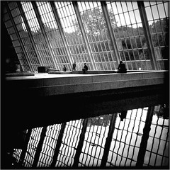 """The Cage of Dreams"" (Sion Fullana) Tags: nyc trees urban blackandwhite bw newyork painterly reflection blancoynegro water architecture reflections square poetry squareformat reflejo reflexions allrightsreserved metropolitanmuseumofart reflejos newyorkers newyorklife iphone 500x500 peoplesitting pictorialism urbanshots greatlines urbannewyork iphonephotography iphoneshots iphoneography iphoneographer sionfullana hipstamatic hipstamaticapp fantasticwindows centralparkbehind thecageofdreams throughthelensofaniphone"