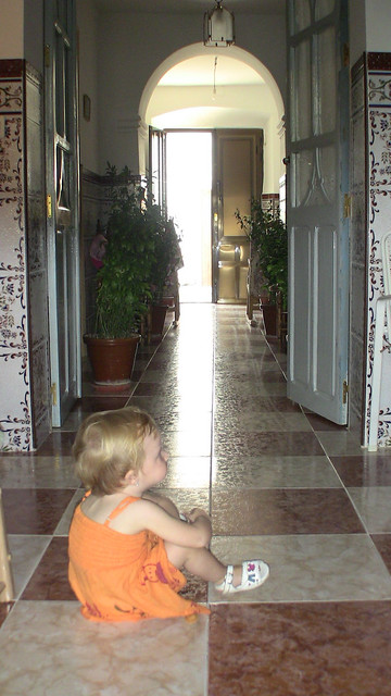 Nora contemplates her great-grandfather's house