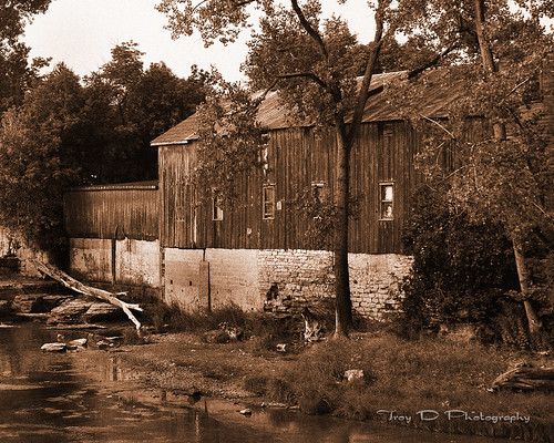 Old Sepia Barn
