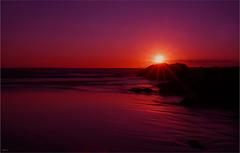 Woolacombe (Fishfingers & Custard) Tags: pictures sunset beach sony  a3 100 woolacombe devonshire 16sunburst