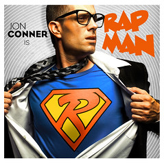 Rap Man! (Kirk Smith.) Tags: man shirt glasses kent jon smith superman clark superhero hip hop rap kirk conner mcgirt