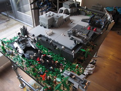 Lego Imperial outpost on Yavin (TMM) Tags: lego imperial yavin outpost