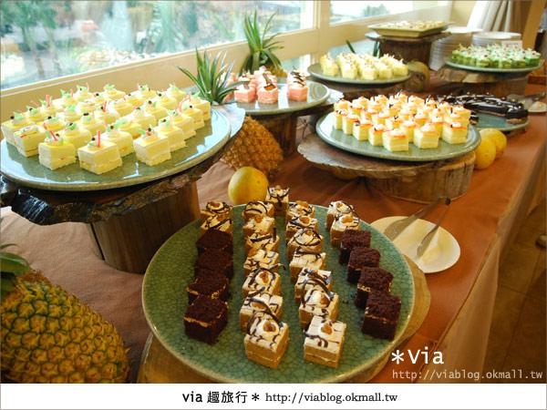 【新竹旅館】關西六福莊生態渡假旅館~餐食篇13