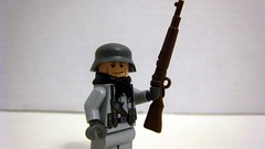 KAR98 (The Brick Guy) Tags: lego rifle review worldwarii german prototype custom 2010 minifigure kar98 brickarms stalhelm brickfair