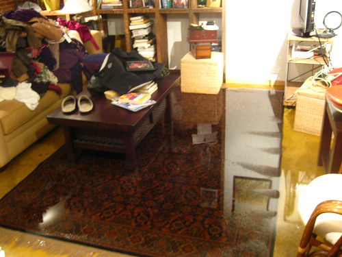 The great basement flooding of 2010