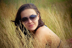 (Adelfinna) Tags: light nature girl beauty ray natural ban portret