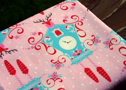 Cuckoo Clock fabric!