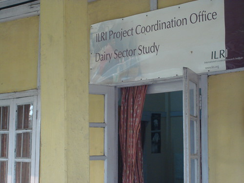 ILRI dairy project office in Guwahati, Assam, India