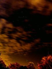starry sky on Perseid night (amazingstoker) Tags: sky night lumix star starry cassiopeia tz10