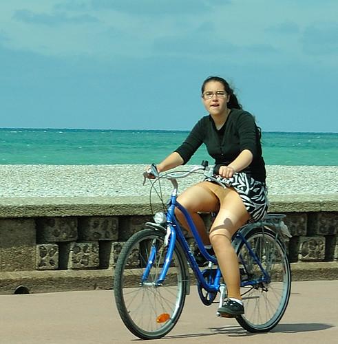 Of Pantyhose And Bike 35