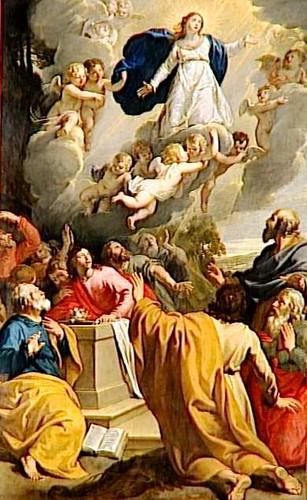L'assomption de la vierge par Philippe de Champaigne
