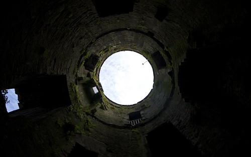 Inside The Tower At Conwy Castle