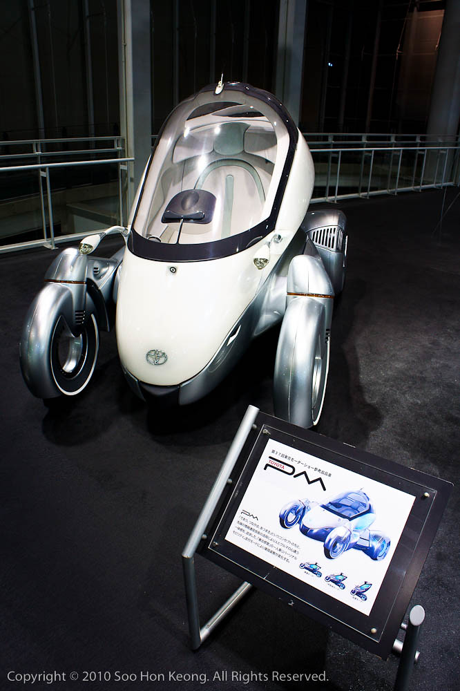 Toyota PM (concept car) @ Mega Web, Odaiba, Tokyo, Japan