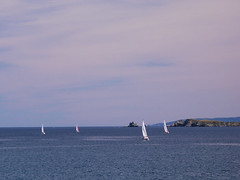Sailing on Conception Bay
