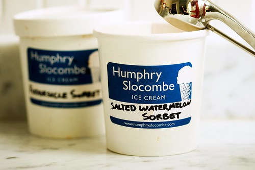 humphry slocombe sorbet for the latest cupcake project