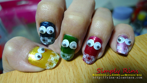 nail art - no place like home 03