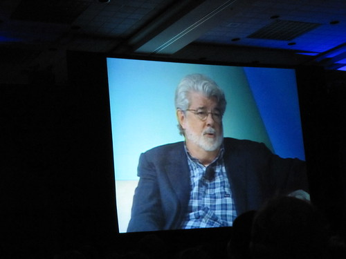 George Lucas :) :) :) - Star Wars Celebration V