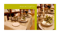 eucalipto table (maria grazia preda) Tags: decoration lifestyle bologna shopwindow tisch tovaglia tablesetting tavola tessuti decorazione piatti eucalipto decoracin tablescapes tischdeko tischdekoration apparecchiare apparecchiatura busatti ricevere decorazionetavola tabledecorating mariagraziapreda decorerlatable