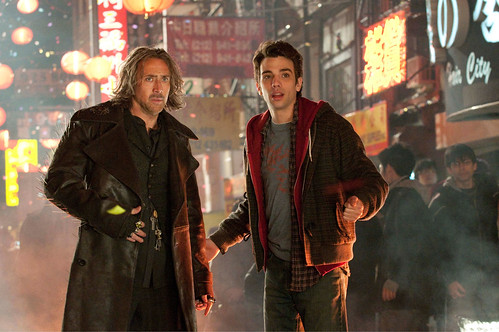 Nicolas Cage and Jay Baruchel in The Sorcerers Apprentice