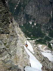 Jon on NE Buttress of Goode I