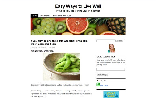 Easy Ways to Live Well