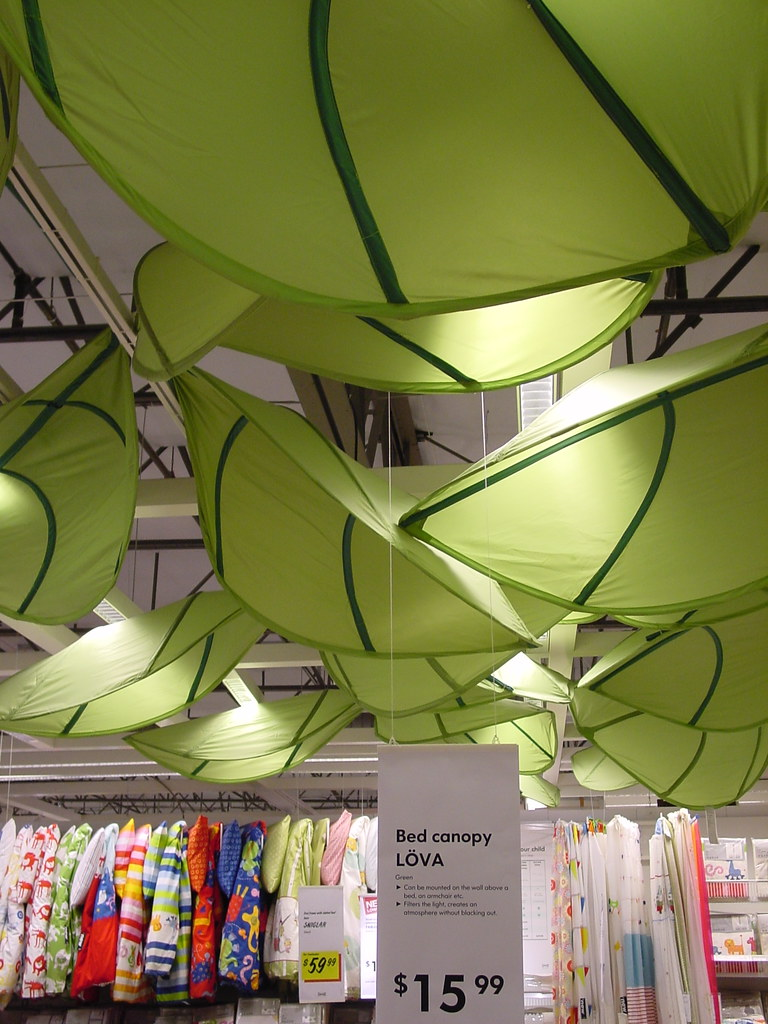 Ikea Lova leaf bed canopy (Wig3000) Tags ikea home leaf bed canopy lova & The Worldu0027s Best Photos of canopy and ikea - Flickr Hive Mind