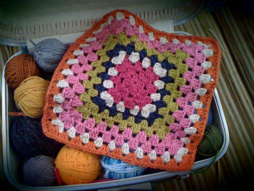 Crocheting...