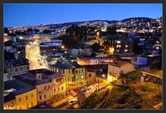 Mirador en cerro Alegre, Valparaíso