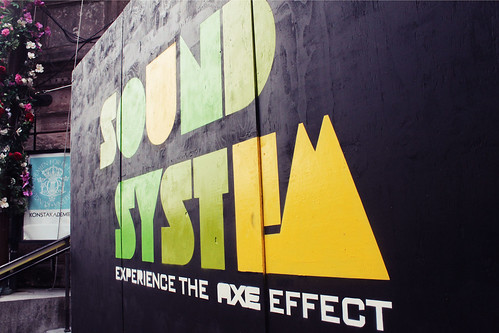 Soundsystem The Axe Effect 01