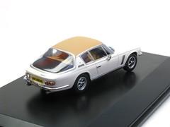 Jensen Interceptor MKIII white/tan (Oxford Diecast OXJI0007) (AutoBahn Model Cars) Tags: oxford jensen interceptor diecast mkiii whitetan