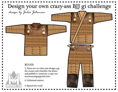 Way of the Samurai BJJ gi
