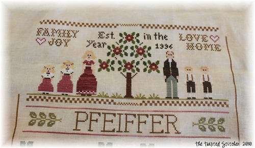 Family Sampler 2- In Progress