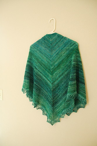 one big shawl
