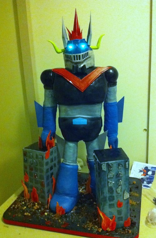 Great Mazinger Cake