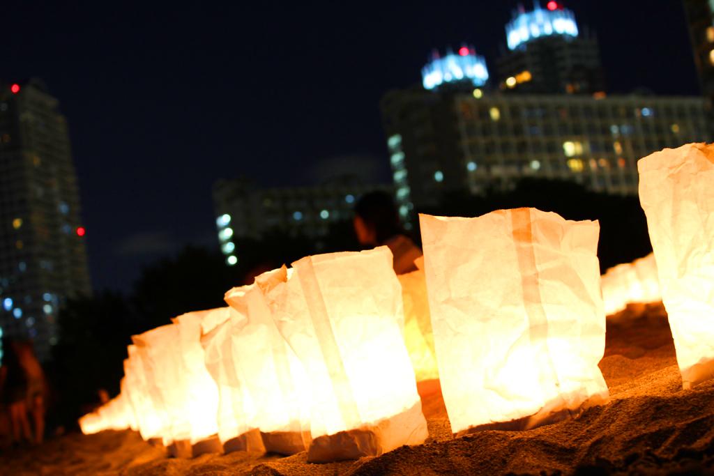 Paper Lantern Festival in Odaiba 2010 (4)