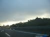pioggia e nuvole basse