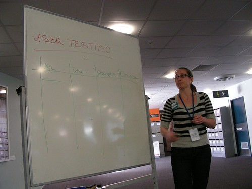 Getting started with user testing