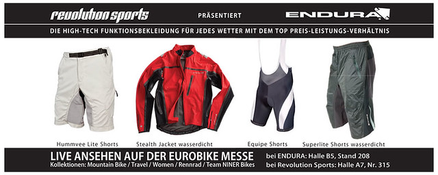 Endura Funktionsbekleidung bei Revolution Sports