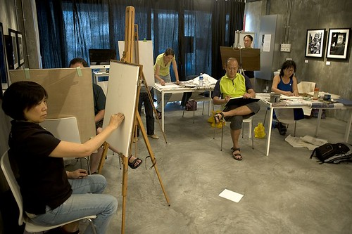 NUDE Figure Drawing Class with tung tong---( implied nudity