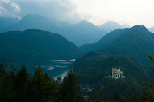Hohenschwangau Castle and the Alpsee