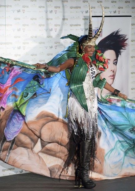 National Costume of Miss Angola