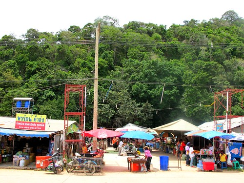 Ban Saladan market