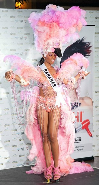 National Costume of Miss Bahamas