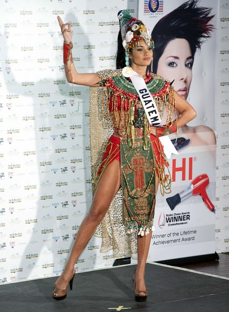 National Costume of Miss Guatemala